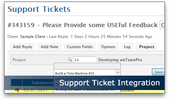 Support Ticket Integration